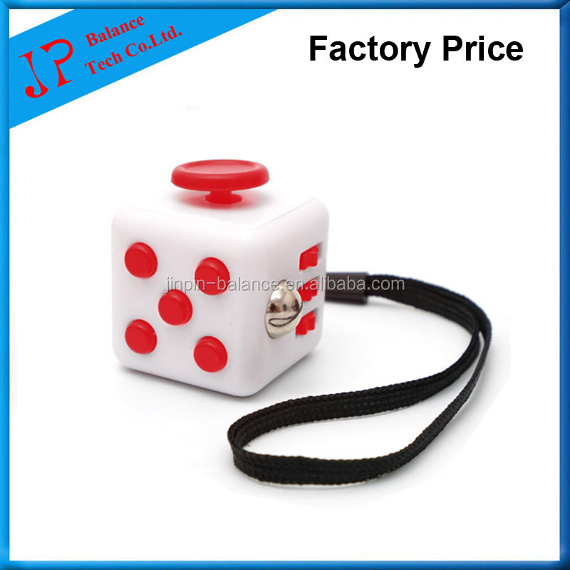 In stock Magic Fidget Cube toy 2017 New Anti - anxiety decompression Psychological implication Cube creative