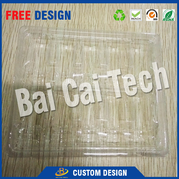 Professional customized plastic blister packaging, clear clamshell blister, blister