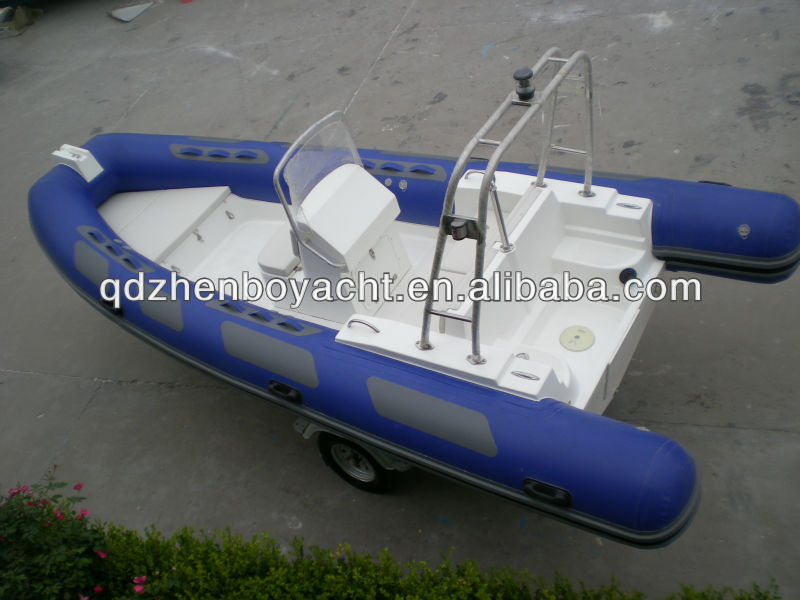 High quality Rigid inflatable sailing boat China