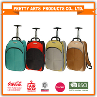 New product 2015 new colored crossing luggage bag, top brands trolley luggage bag