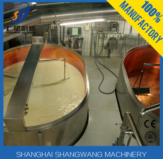 fully automatic ice cream/cheese/butter production line process/mini cheese processing plant