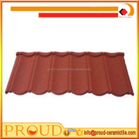 Building Material Colorful Stone Coated Metal Roof Tile