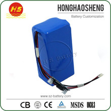Factory price customized lithium 12v 40ah li ion battery pack with PCM