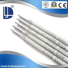 China Welding rods and welding rods manufacturer DaYang welding electrodes brand Aws e6013 e7018