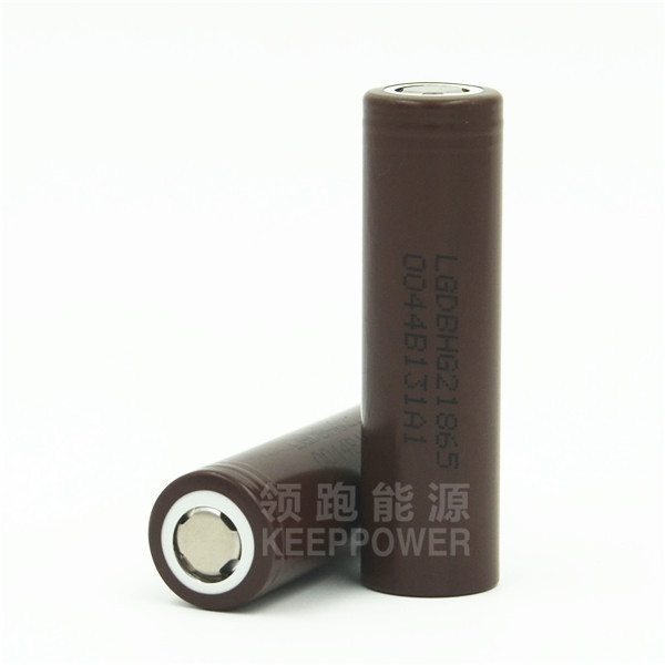 INR18650HG2 18650 3000mAh battery 20A continuous discharge current high drain LG HG2