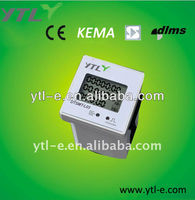 Single phase electricity panel meter
