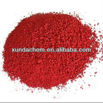 Iron oxide pigment iron oxide molecule for colored cement
