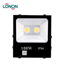 High lumen bridgelux waterproof ip66 outdoor square 100w led flood lights