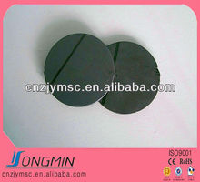 anisotropic permanent round rubber magnet