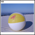 NB-BA3007 With logo PVC inflatable Beach ball for Kids