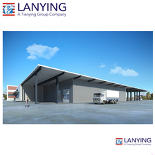 Prefabricated Steel Industrial Warehouse Building Commercial Office Unit