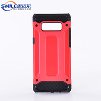 Pc tpu handphone casing case for samsung galaxy note 8 hybird case cover shockproof