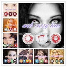 china cheap cosmetic contact lens for big eye/colored eye contact lenses