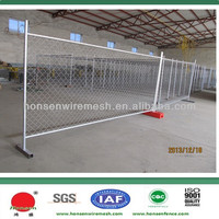 Hot selling steel portable children play yard fence