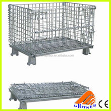 high quality galvanized welded wire mesh Cage wire mesh container stackable steel security cage