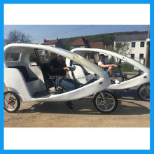 Pedal Assisted Electric Tricycle With Passenger Seat
