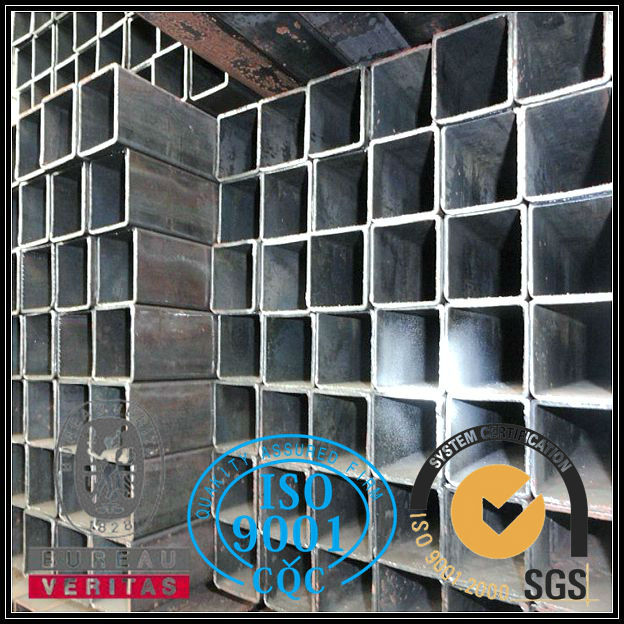 Hot rolled galvanized red sex square steel tube for sale
