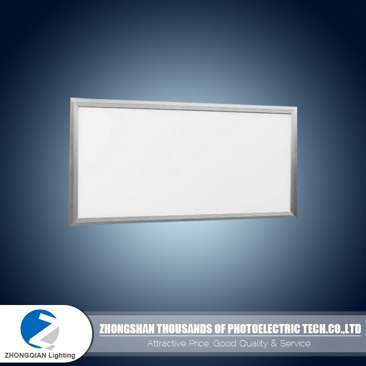 FCC CB surface mounted silver aluminum frame OEM 40W 30x60 cm surface led panel light