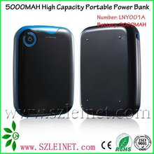 2012 New Products 5000MAH Mobile Power Solution For Mobile Phone