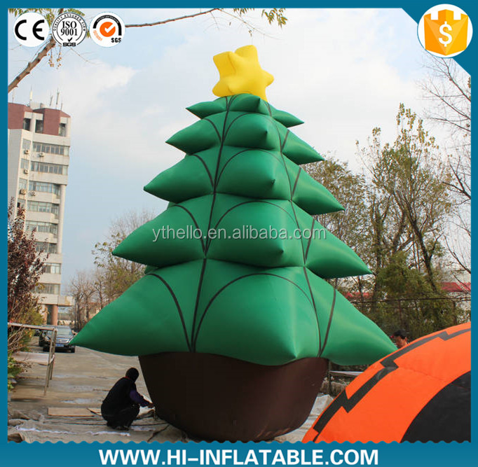 Top ! 2015 christmas inflatable tree/residential christmas decorations/20ft christmas inflatable tree
