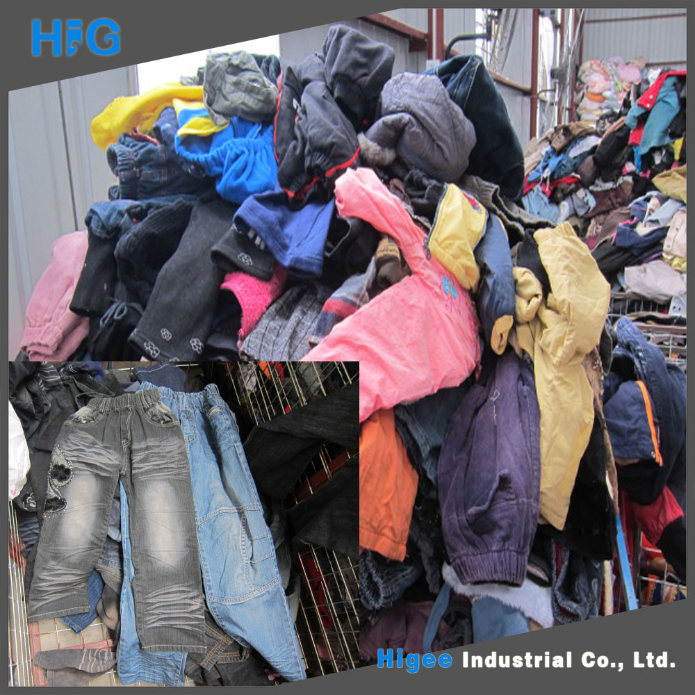 ladies used blouse and tops used clothes hongkong