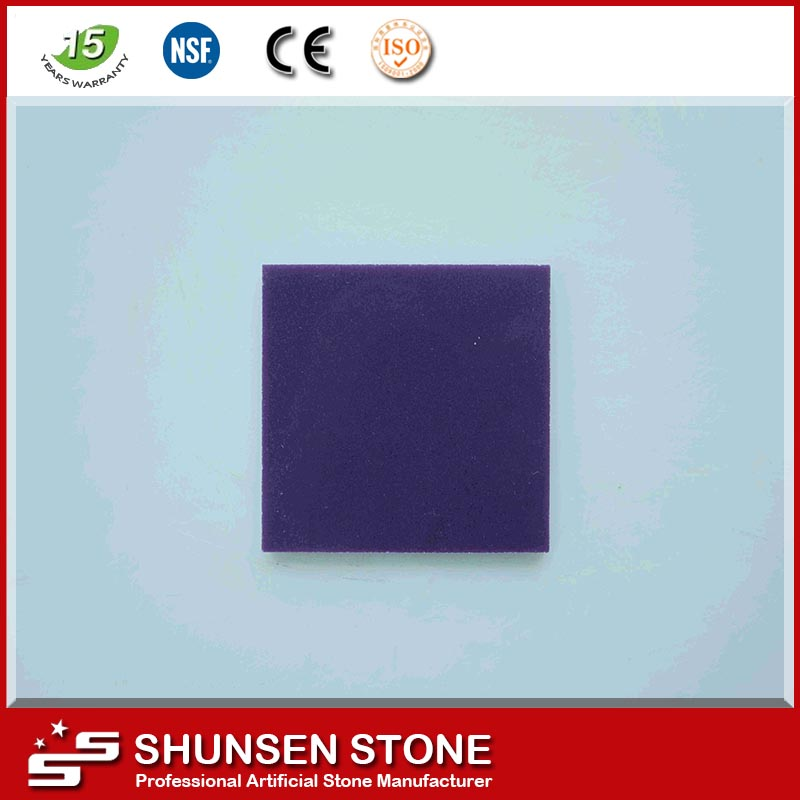 china supplier dark purple quartz stone for wall,floor,table top