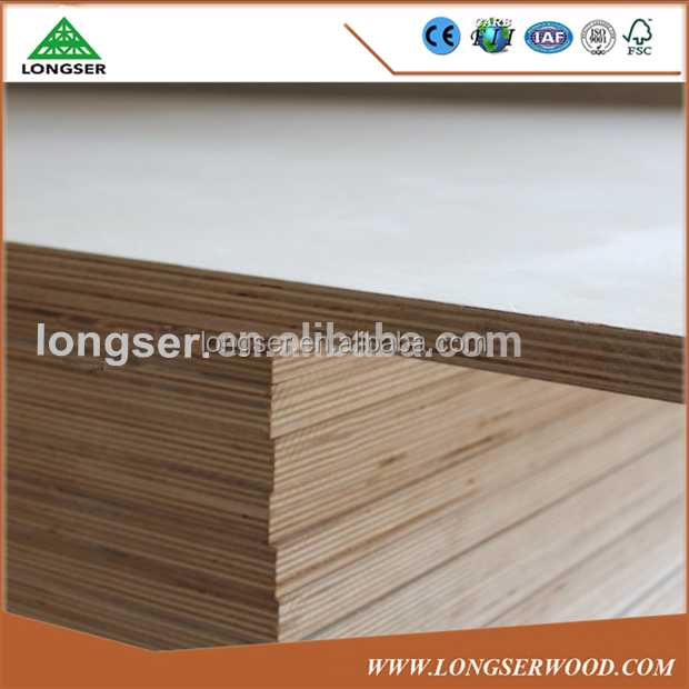 Hot Sale 9mm 7 Ply Plywood With Poplar Core