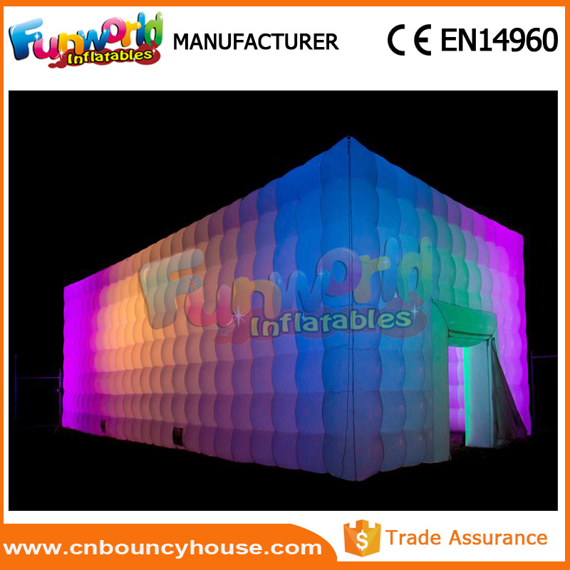 Blow up structure Led Inflatable party Tent Inflatable tent