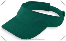 Custom Sports Visor Caps 100% Polyester Dri Fit Athletic Mesh Visor Caps Solid Color Plain Visor Caps Wholesale