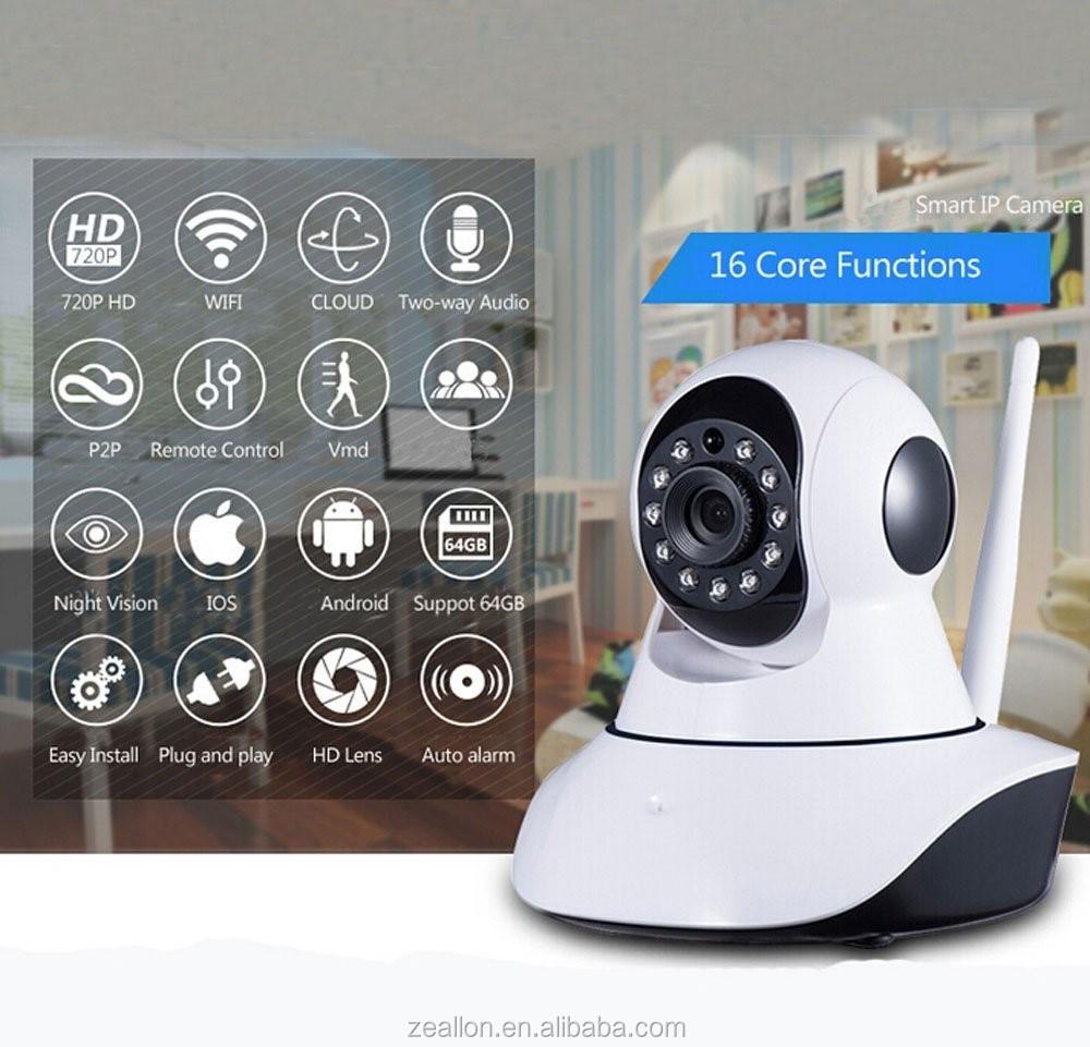 360 Wireless Wifi Camera,Indoor Monitor Wifi Cctv Camera,Baby ...
