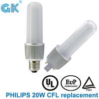replace 26w cfl hps CE&ROHS UL approved corn led lamp holder plug