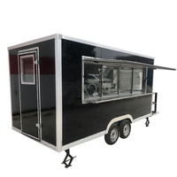mobile food truck factory snack machine trailer for sale in dubai