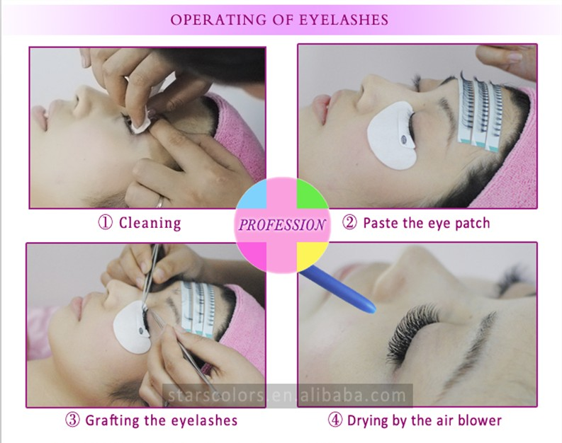 Professional eyelash extension remover,cream natural cream