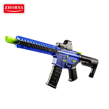 Zhorya high quality new design kids crystal gel water ball bullet plastic toy gun