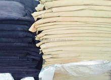 Vegetable tanned beige color pig lining, pig second layer for boots, cheaper chinese pig leather