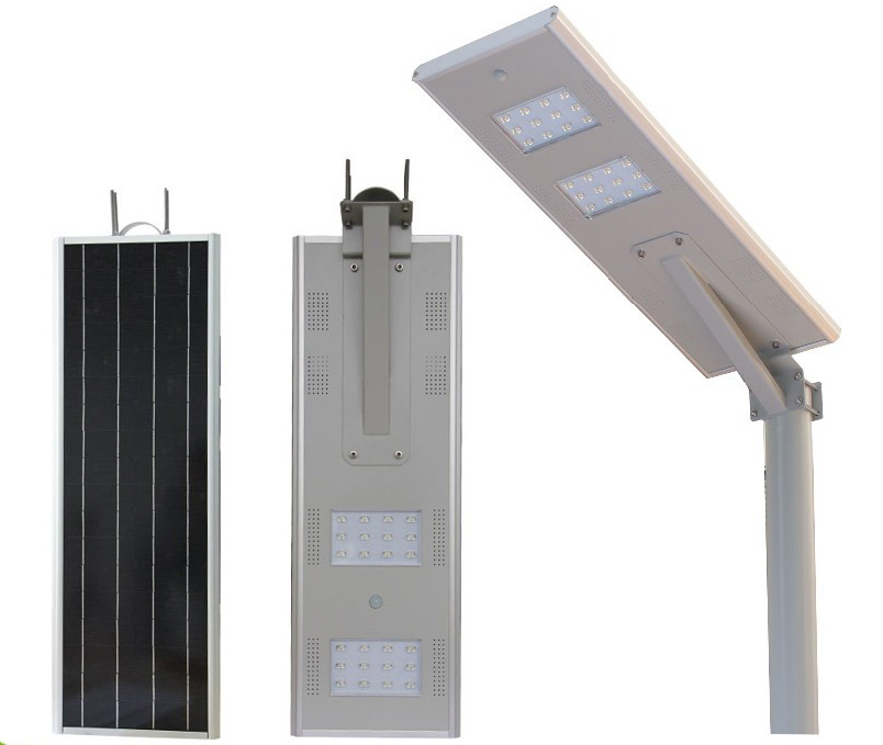 20W 30W Innovative product solar energy lighting outdoor all in one led solar street light