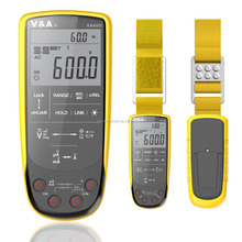Besr sell Touch pad digital multimeter with Auto LCD display water proof Wifi network supported  Auto detect scan function  VA90