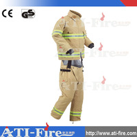 Fire fighters aramid fire retardant coverall /nomex fire safety clothing