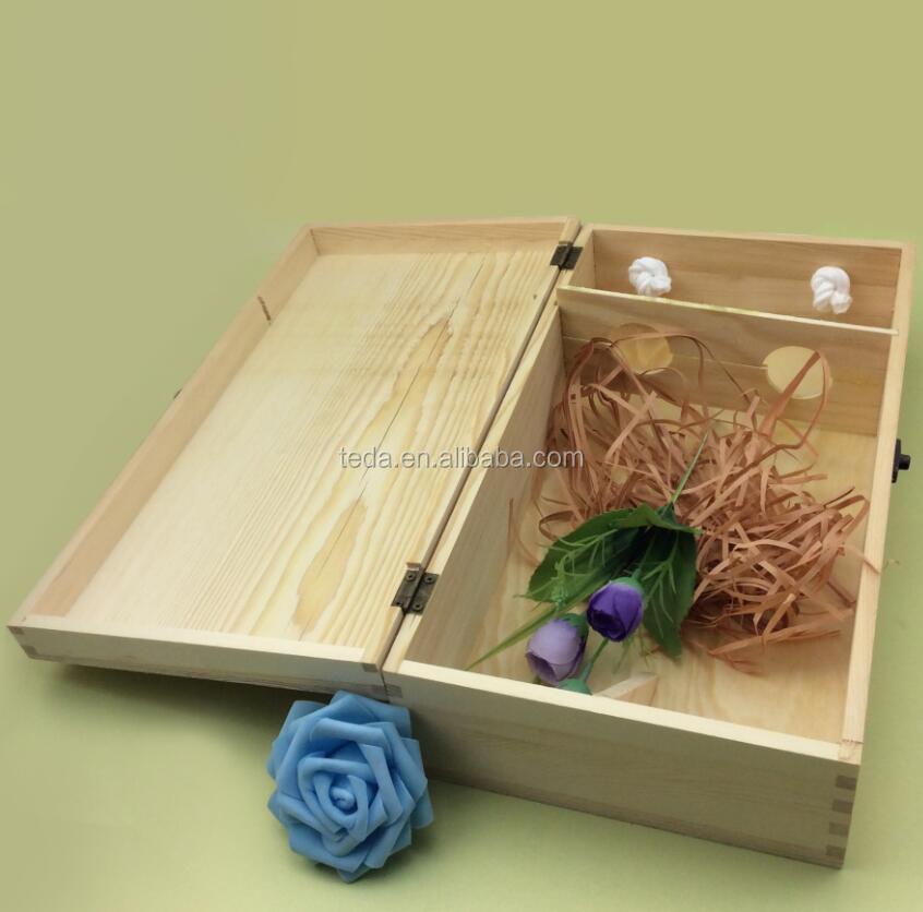 Pine wood double lid wedding wine boxQQ20170814104355.jpg