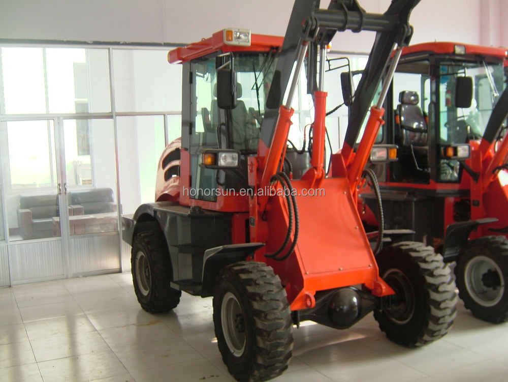China Brand ZL20F wheel Loader/Compact Backloader/Mini Backhoe Loader for sale