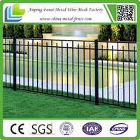 "48"" Height 54"" Height 72"" Height ornamental fence commercial and construction wrought iron fence"