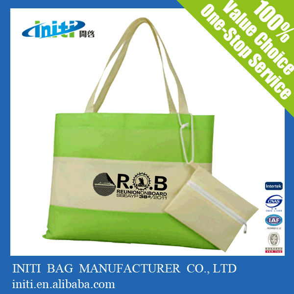 2014 wholesale custom canvas chevron tote bags