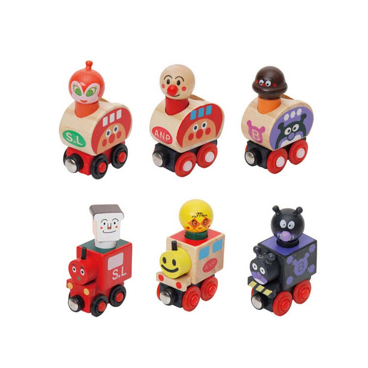 FQ brand wholesale hot selling new style cute carton6 knots Magnetic kids wholesale model train