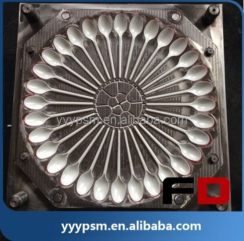 Super Quality plastic injection spoon mould,Good quality plastic injection <strong>mold</strong>