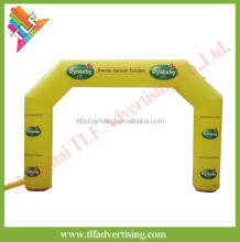 Cheap Inflatable arch with LED light advertising