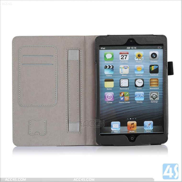 leather for ipad mini cases retina strap case P-IPDMINIiiCASE002