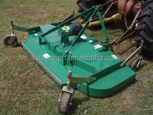 Tractor Mounted Brush Cutter : Farm hay cutter machinery finish mower tractor pto drive
