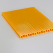 clear plastic roofing sheet; polycarbonate hollow sheet