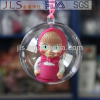 Sell Clear Plastic christmas sparkle ball