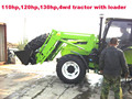 110hp farm tractor,12+4R shift at the right,hydraulic steering,double disc clutch,540/1000 PTO,YTO diesel engine,cabin with A/C